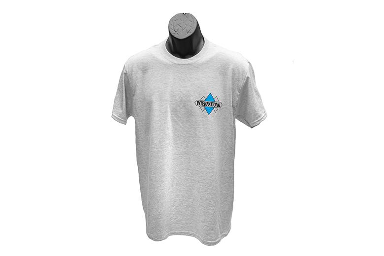 Triple-Diamond Small Print T-Shirt