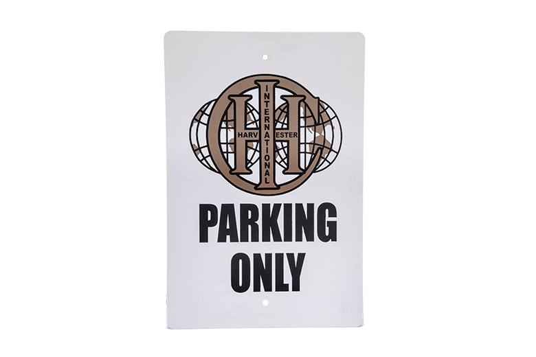 Old IHC Parking Only sign