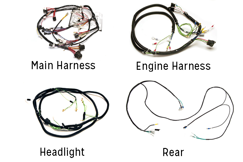 Scout 80, Scout 800 Complete Wiring Harness - - A, B ...