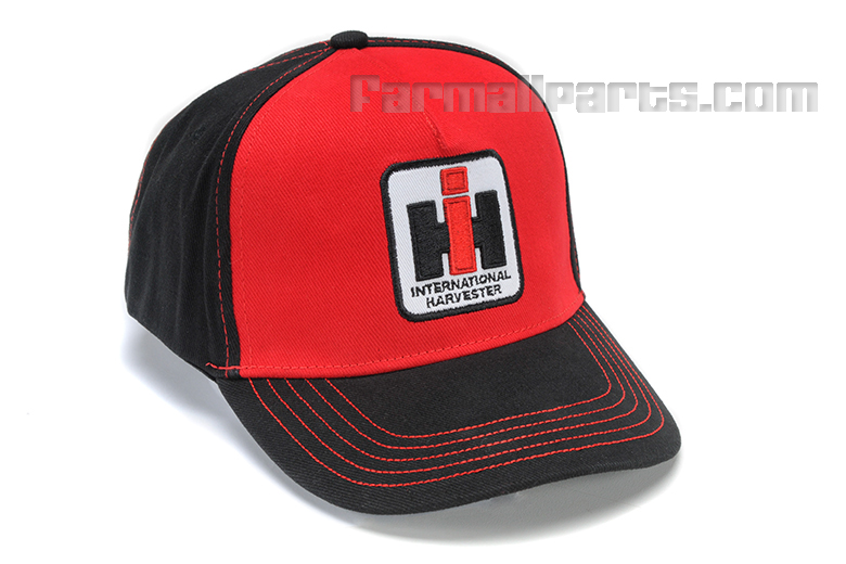 Black and Red IH Hat ( L.E.D. Light-Up )