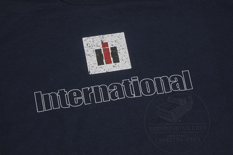 Navy Blue, Distressed IH logo -Limited Quantities