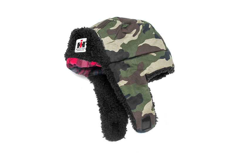 IH logo Infant Trapper hat