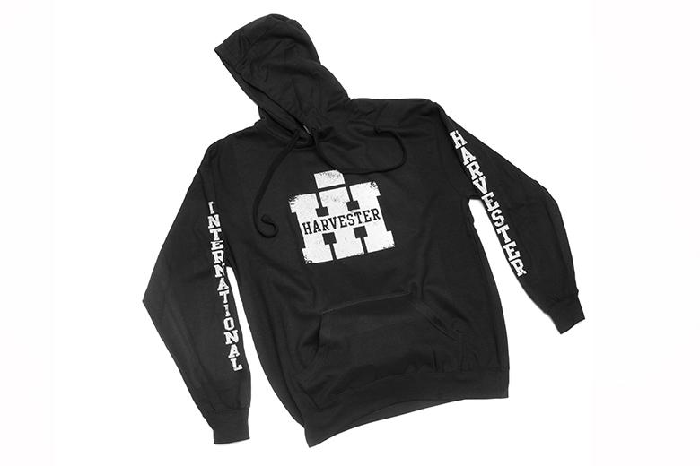 IH Logo Sweatshirt Pullover Hoodie with Sleeve Printing
