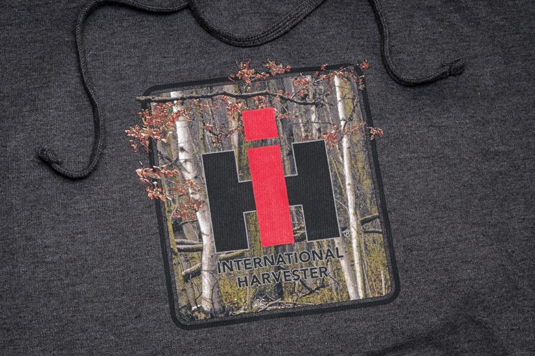 Camo IH Logo Pullover Hoodie Sweatshirt