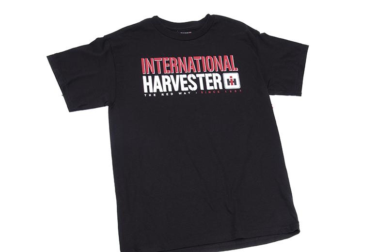 T Shirt International Harvester Since 1902 - Black Tee