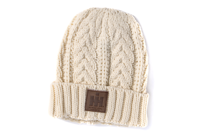 Cable Knit IH Hat, Winter Cap