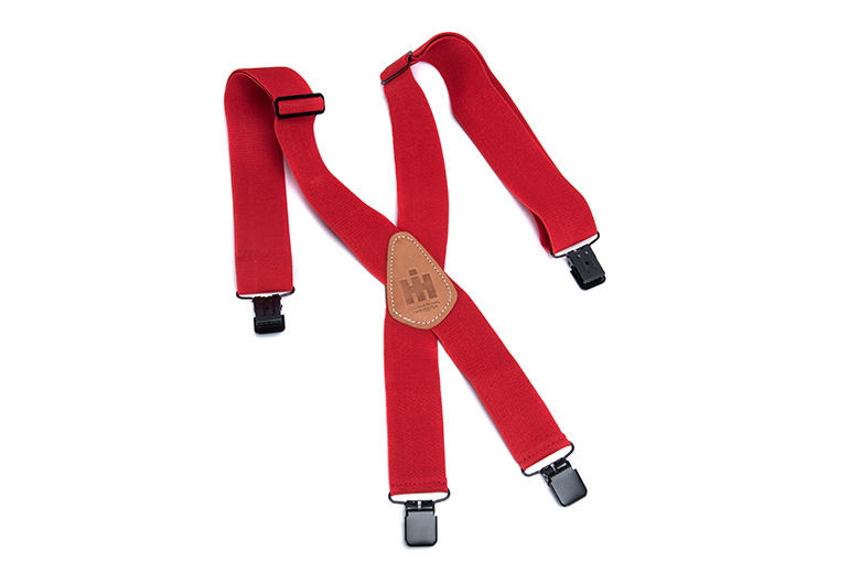 Red IH Suspenders
