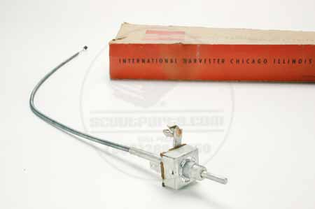 Switch Temperature cable International Harvester Heater Temperature Switch - New Old Stock