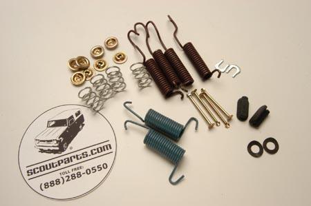 Dana 44 Brake HardwareSpring Kit