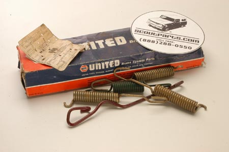 Brake hardware Kit - new old stock.