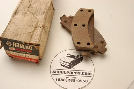 Brake Pad - NEW OLD STOCK