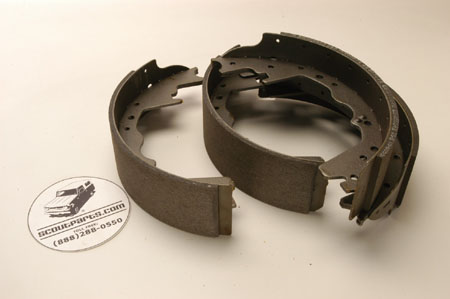 "11"" brake shoes for Dana 60 rear & front drum brakes"