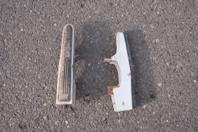 Bumper extension pads - used