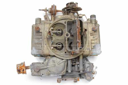 Scout II Holley 4-Barrel Carburetor - Rebuilt