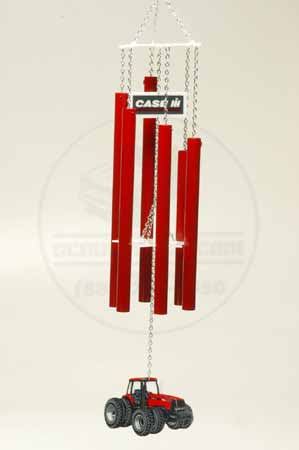 Windchimes, Case MX285 Tractor