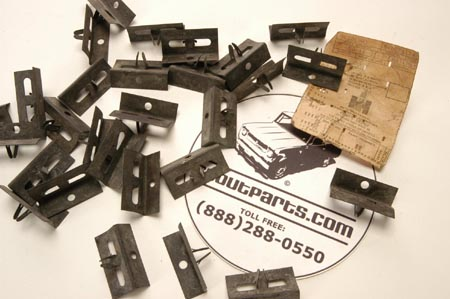 Scout 80, Scout 800 Grille Clips  - New Old Stock