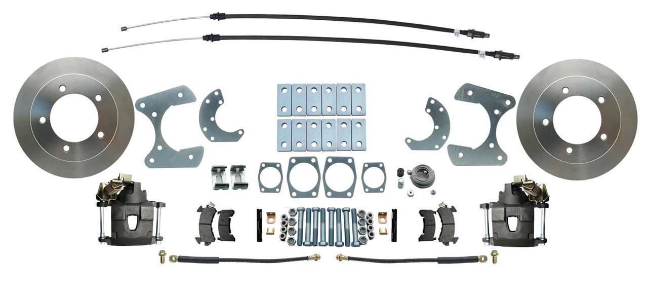 Disc Brake Rear Conversion Kit With E-brake