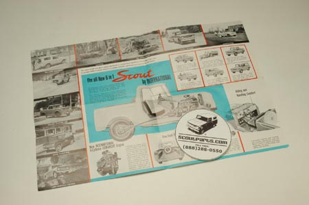 Original 1961 Sales Brochure
