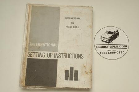 Operators Manual - 620 Press Drill