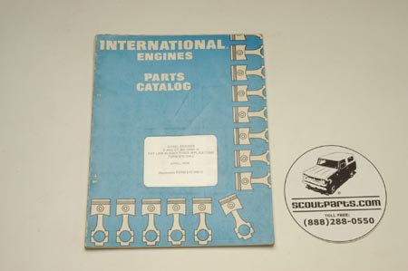 Parts Catalog - D And DT-360 Engines