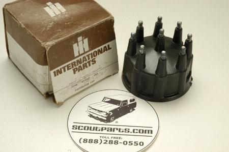 Scout II, Scout 800 Distributor Cap electronic ignition FordType  -  - New Old Stock
