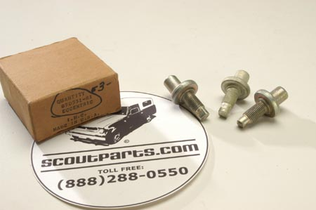Scout 80 Brake Eccentric Adjuster Post,