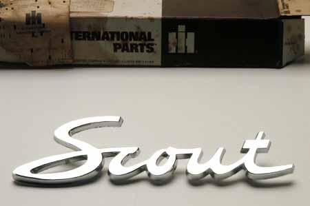 Scout II, Scout 80, Scout 800 Fender Emblem