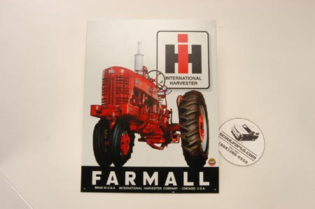Farmall Sign