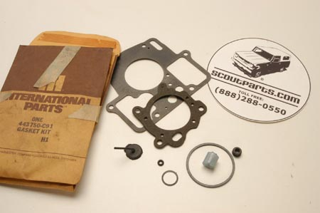 Scout II Carb Gasket Kit -   - New Old Stock