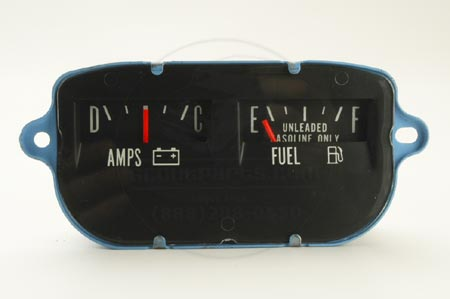 Scout II Fuel Amp Gauge - New Old Stock