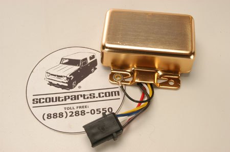 Gold Box Ignition Module  International    Scout    Parts     Scout    II Parts  Your Authorized IH