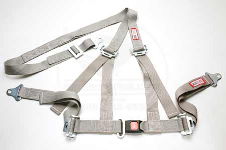 Scout II, Scout 80, Scout 800 Grey (Scout Beige), Seat Belt Harness System- Off Road