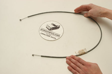 "Control Cable  AIR , NEW Old Stock  32"" long"