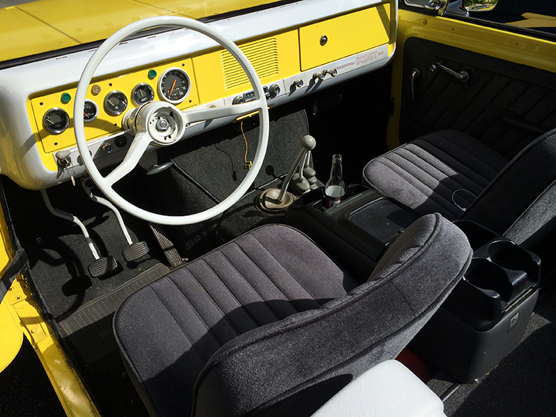 Scout 800 Beautiful, Yellow, 1967 62,000 Original miles