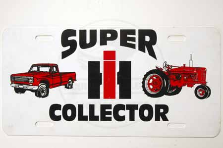 "License Plate ""Super Collector"""