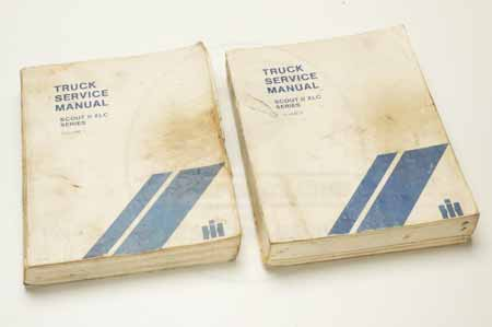 Scout II Truck Service Manuals  CTS-2313