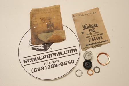Scout 800 Brake Master Cylinder Valve Seat Assembly