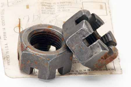 Scout 80 Axle Nut castle nut - New Old Stock