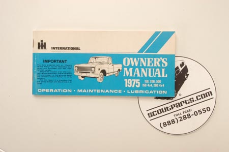 Travelall, Pickup - 1975 Pick Up Truck Owners Manual