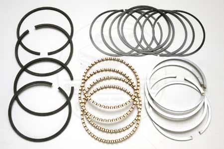 4 cyl Chrome Piston Ring Set