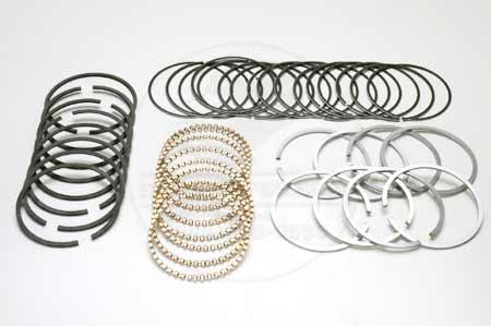 Chrome Piston Ring Kit  For V8