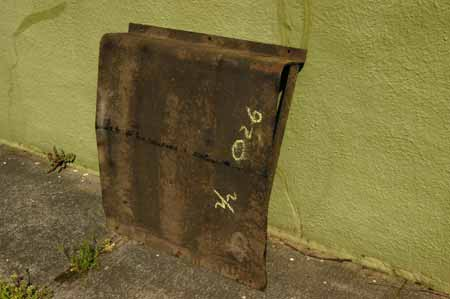 Scout II Skid Plate Fuel Tank  - New Old Stock