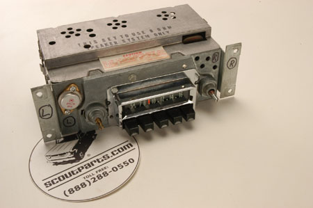 Scout 80 Radio For