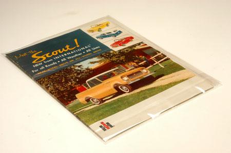 Scout 80 Scout Sales Brochure - 1961