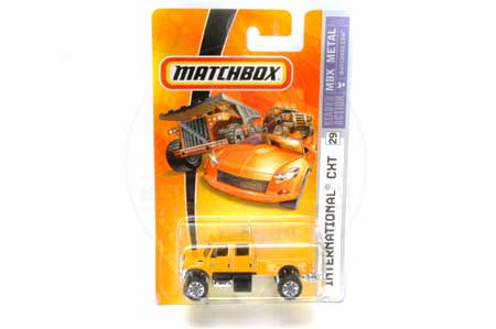 IH International CXT Matchbox Truck Toy