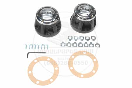 Scout 80, Scout 800 - Selectro Chrome Locking Hubs