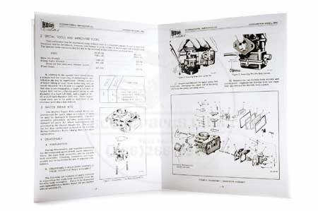 Scout 80, Scout 800 Service Manual - Holley 1904 Carburetor