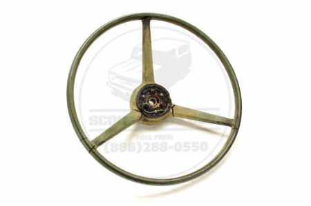 Steering Wheel  Green - used
