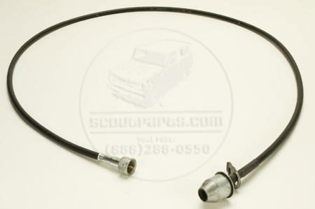 Scout 80 2WD Speedometer Cable, NEW