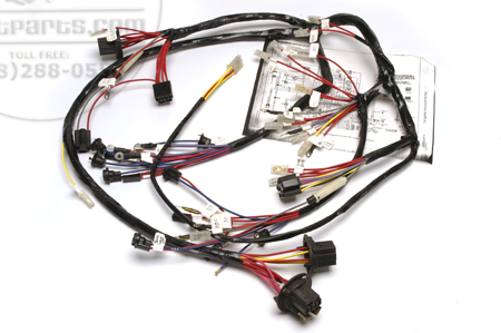 Scout 800 Under Dash Wiring harness 1971 B 4 and 8 cylinder